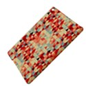 Modern Hipster Triangle Pattern Red Blue Beige iPad Air 2 Hardshell Cases View4