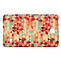 Modern Hipster Triangle Pattern Red Blue Beige Samsung Galaxy Tab 4 (7 ) Hardshell Case  View1
