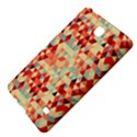 Modern Hipster Triangle Pattern Red Blue Beige Samsung Galaxy Tab 4 (7 ) Hardshell Case  View4