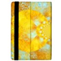 Gold Blue Abstract Blossom iPad Mini 2 Flip Cases View4