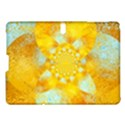 Gold Blue Abstract Blossom Samsung Galaxy Tab S (10.5 ) Hardshell Case  View1