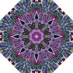 Sly Dog Modern Grunge Style Blue Pink Violet Straight Umbrellas