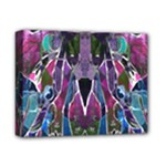 Sly Dog Modern Grunge Style Blue Pink Violet Deluxe Canvas 14  x 11