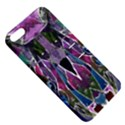 Sly Dog Modern Grunge Style Blue Pink Violet Apple iPhone 5 Hardshell Case with Stand View5