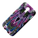 Sly Dog Modern Grunge Style Blue Pink Violet Samsung Galaxy S4 I9500/I9505 Hardshell Case View4