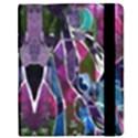 Sly Dog Modern Grunge Style Blue Pink Violet Samsung Galaxy Tab 8.9  P7300 Flip Case View2
