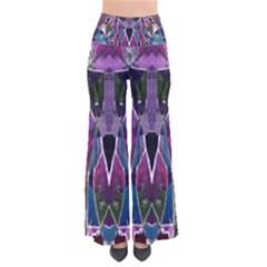 Sly Dog Modern Grunge Style Blue Pink Violet Pants by EDDArt