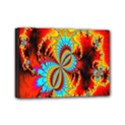 Crazy Mandelbrot Fractal Red Yellow Turquoise Mini Canvas 7  x 5  View1