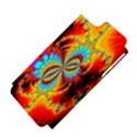 Crazy Mandelbrot Fractal Red Yellow Turquoise Apple iPhone 5 Hardshell Case (PC+Silicone) View4