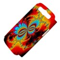 Crazy Mandelbrot Fractal Red Yellow Turquoise Samsung Galaxy S III Hardshell Case (PC+Silicone) View4