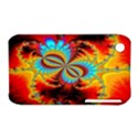 Crazy Mandelbrot Fractal Red Yellow Turquoise Apple iPhone 3G/3GS Hardshell Case (PC+Silicone) View1