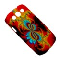 Crazy Mandelbrot Fractal Red Yellow Turquoise Samsung Galaxy S III Classic Hardshell Case (PC+Silicone) View5