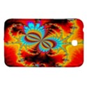 Crazy Mandelbrot Fractal Red Yellow Turquoise Samsung Galaxy Tab 3 (7 ) P3200 Hardshell Case  View1