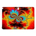 Crazy Mandelbrot Fractal Red Yellow Turquoise Samsung Galaxy Tab Pro 10.1 Hardshell Case View1