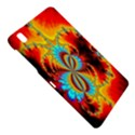 Crazy Mandelbrot Fractal Red Yellow Turquoise Samsung Galaxy Tab Pro 8.4 Hardshell Case View4