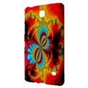 Crazy Mandelbrot Fractal Red Yellow Turquoise Samsung Galaxy Tab 4 (8 ) Hardshell Case  View2