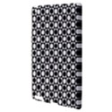 Modern Dots In Squares Mosaic Black White Apple iPad 3/4 Hardshell Case View3