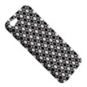 Modern Dots In Squares Mosaic Black White Apple iPhone 5 Hardshell Case View5
