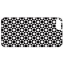 Modern Dots In Squares Mosaic Black White Apple iPhone 5 Classic Hardshell Case View1