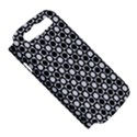 Modern Dots In Squares Mosaic Black White Samsung Galaxy S III Hardshell Case (PC+Silicone) View5
