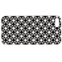 Modern Dots In Squares Mosaic Black White Apple iPhone 5 Hardshell Case with Stand View1