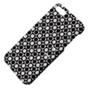 Modern Dots In Squares Mosaic Black White Apple iPhone 5 Hardshell Case with Stand View4