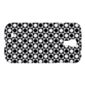 Modern Dots In Squares Mosaic Black White Samsung Galaxy S4 I9500/I9505 Hardshell Case View1