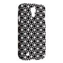 Modern Dots In Squares Mosaic Black White Samsung Galaxy S4 I9500/I9505 Hardshell Case View2