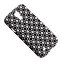 Modern Dots In Squares Mosaic Black White Samsung Galaxy S4 I9500/I9505 Hardshell Case View5