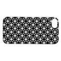 Modern Dots In Squares Mosaic Black White Apple iPhone 5S/ SE Hardshell Case View1