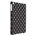 Modern Dots In Squares Mosaic Black White iPad Air Hardshell Cases View2