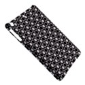Modern Dots In Squares Mosaic Black White iPad Air Hardshell Cases View5