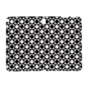 Modern Dots In Squares Mosaic Black White Samsung Galaxy Note 10.1 (P600) Hardshell Case View1