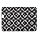 Modern Dots In Squares Mosaic Black White Amazon Kindle Fire HD (2013) Hardshell Case View1