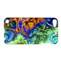 Abstract Fractal Batik Art Green Blue Brown Apple iPod Touch 5 Hardshell Case View1