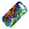 Abstract Fractal Batik Art Green Blue Brown Samsung Galaxy S III Hardshell Case (PC+Silicone) View4