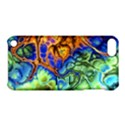 Abstract Fractal Batik Art Green Blue Brown Apple iPod Touch 5 Hardshell Case with Stand View1