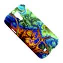 Abstract Fractal Batik Art Green Blue Brown Samsung Galaxy S4 I9500/I9505 Hardshell Case View5