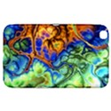 Abstract Fractal Batik Art Green Blue Brown Samsung Galaxy Tab 3 (8 ) T3100 Hardshell Case  View1