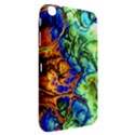 Abstract Fractal Batik Art Green Blue Brown Samsung Galaxy Tab 3 (8 ) T3100 Hardshell Case  View2