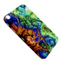 Abstract Fractal Batik Art Green Blue Brown Samsung Galaxy Tab 3 (8 ) T3100 Hardshell Case  View5