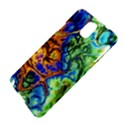 Abstract Fractal Batik Art Green Blue Brown Samsung Galaxy Note 3 N9005 Hardshell Case View4