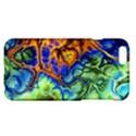 Abstract Fractal Batik Art Green Blue Brown Apple iPhone 6 Plus/6S Plus Hardshell Case View1