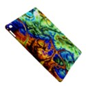Abstract Fractal Batik Art Green Blue Brown iPad Air 2 Hardshell Cases View5