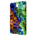 Abstract Fractal Batik Art Green Blue Brown Samsung Galaxy Tab 4 (7 ) Hardshell Case  View2