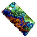 Abstract Fractal Batik Art Green Blue Brown Samsung Galaxy Tab 4 (7 ) Hardshell Case  View5