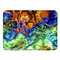 Abstract Fractal Batik Art Green Blue Brown Samsung Galaxy Tab 4 (10.1 ) Hardshell Case  View1