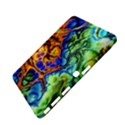 Abstract Fractal Batik Art Green Blue Brown Samsung Galaxy Tab 4 (10.1 ) Hardshell Case  View4
