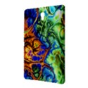 Abstract Fractal Batik Art Green Blue Brown Samsung Galaxy Tab S (8.4 ) Hardshell Case  View2