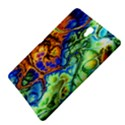 Abstract Fractal Batik Art Green Blue Brown Samsung Galaxy Tab S (8.4 ) Hardshell Case  View4